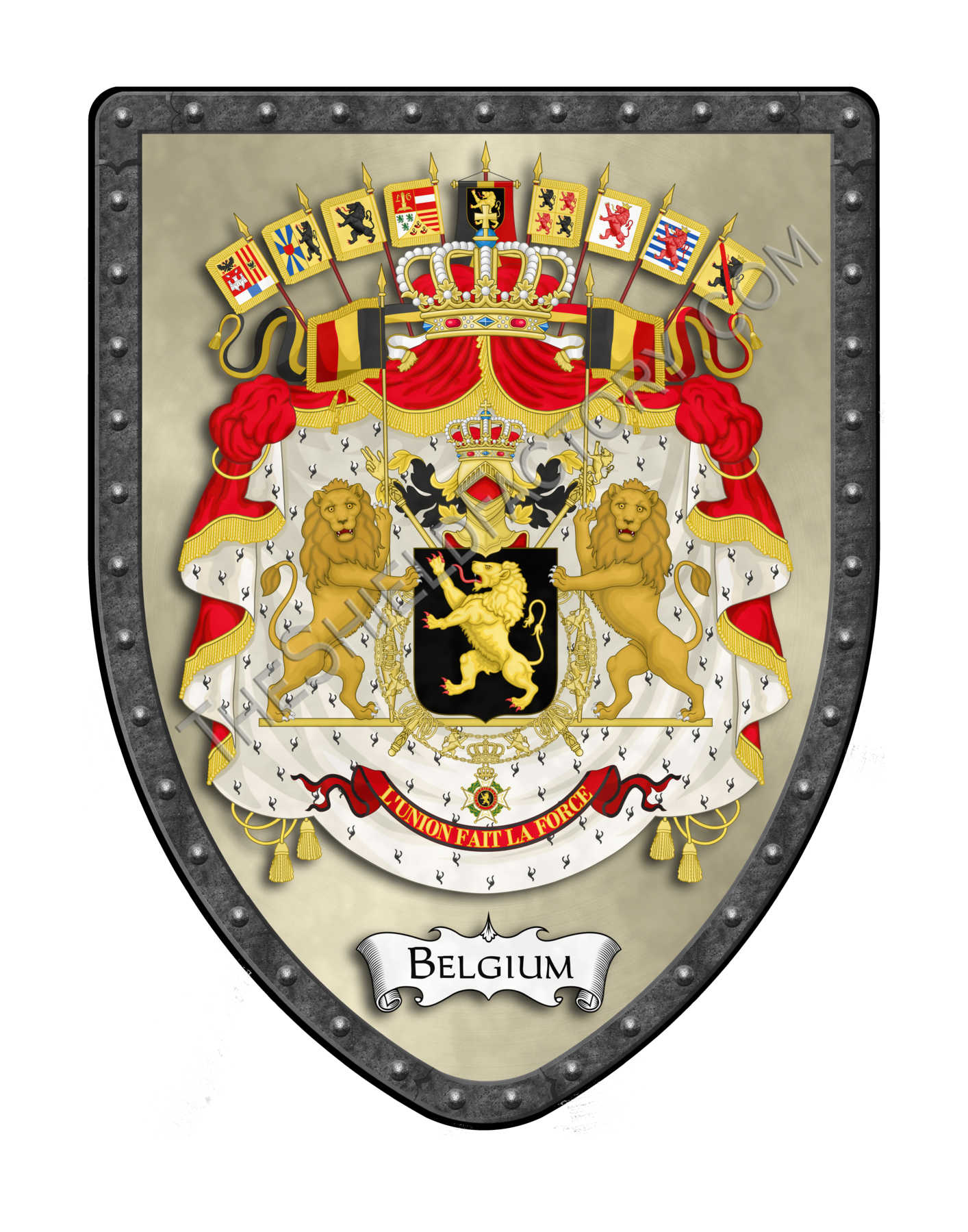 Countries Of Eurepe Royal Coat Of Arms Shields