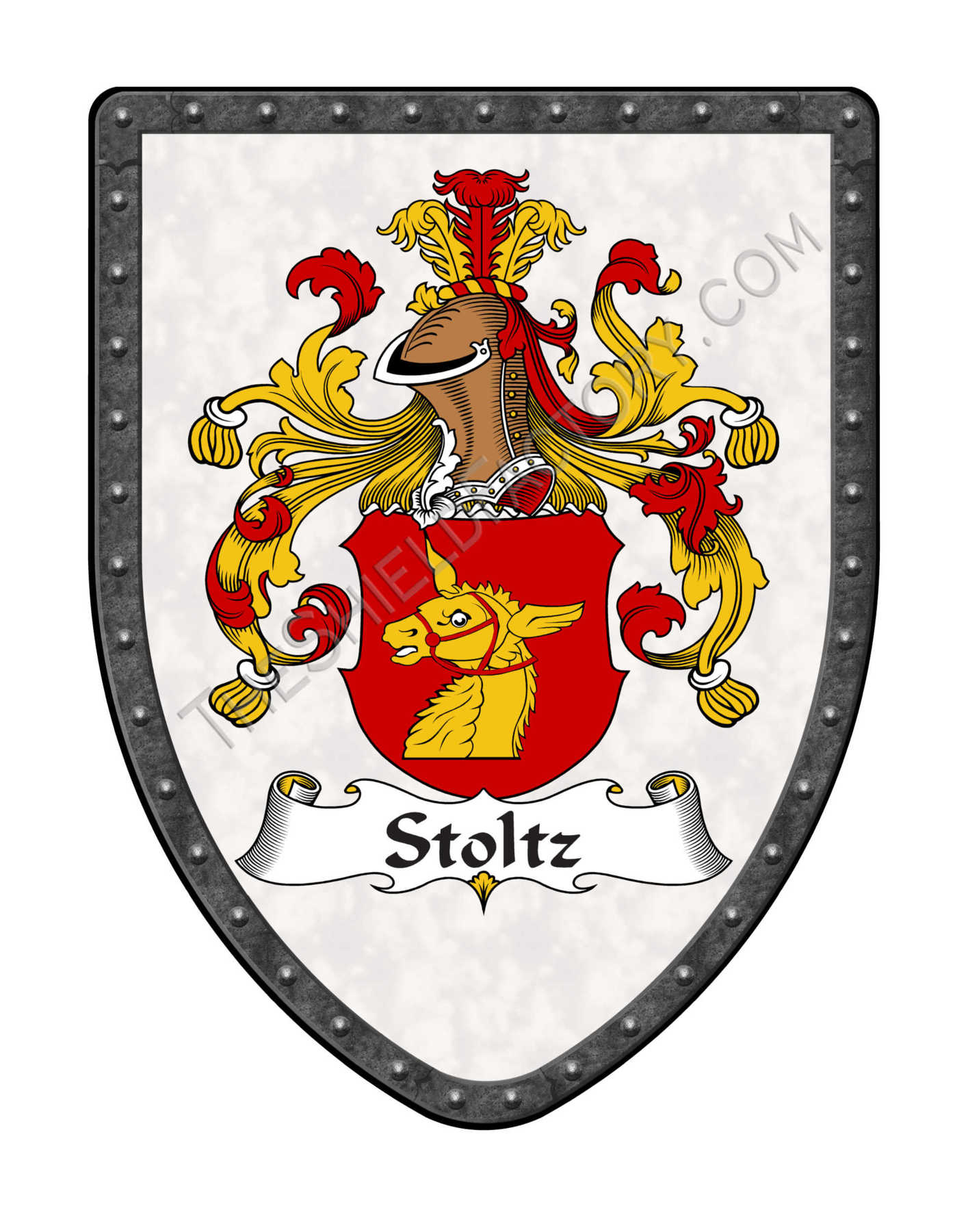 Custom Coat Of Arms Display Shields